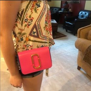 Marc Jacobs playboy cross body with belt option